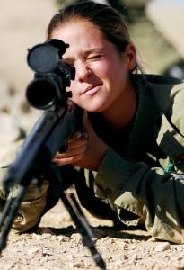 kobieta żołnierz 2